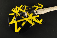 EVH Wolfgang Special Limited Edition - Black/Yellow Stripe (677)