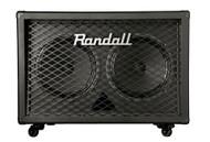 Randall RD212-V30 Diavlo 2x12 Angled Guitar Cabinet - Black