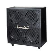 Randall RD412A-V30 4x12 Slant Guitar Cab - Black