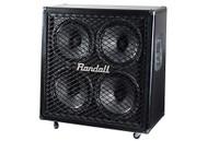 Randall THRASHER412A Angled 4x12W Guitar Speaker Cabinet - Black