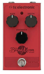 TC Electronics BLOOD MOON PHASER Vintage-Style Phaser Pedal with Four-Stage Filter and All-Analog Circuit