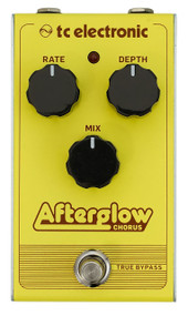 TC Electronics AFTERGLOW CHORUS Vintage-Style Chorus Pedal with All-Analog Bucket-Brigade Circuit