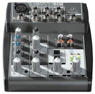 Behringer Premium 5-Input 2-Bus Mixer with XENYX Mic Preamp and British EQ