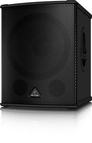 "Behringer    High-Performance Active 2200-Watt PA Subwoofer with 15"" TURBOSOUND Speaker and Built-In Stereo Crossover"