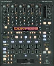 Behringer 5-Channel Digital DJ Mixer, Sampler, 4 FX Sections, Dual BPM Counters, MIDI
