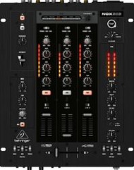 Behringer 3-Channel DJ Mixer, infinium VCA Crossfader, Beat-Syncable FX and USB