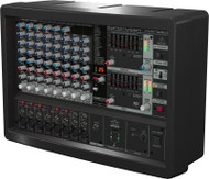 Behringer 500-Watt 10-Channel Powered Mixer, KLARK TEKNIK Multi-FX Processor, FBQ