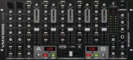 Behringer 7-Channel Rack-Mount DJ Mixer, BPM Counter and VCA Control, USB