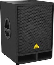"Behringer Professional Active 500-Watt 15"" PA Subwoofer with Built-In Stereo Crossover"