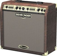 Behringer 45-Watt 2-Channel Acoustic Instrument Amplifier with Dual FX and FBQ