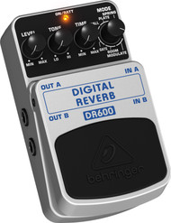 Behringer Digital Stereo Reverb Effects Pedal