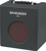 "Behringer Vintage-Style 15-Watt Bass Amplifier with Original 8"" BUGERA Speaker"