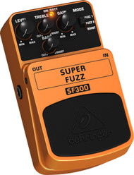 Behringer 3-Mode Fuzz Distortion Effects Pedal