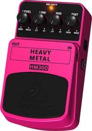 Behringer Heavy Metal Distortion Effects Pedal