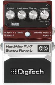 Digitech RV-7 Hardwire Stereo Reverb pedal