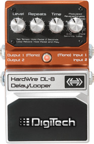 Digitech DL-8 Hardwire Stereo Delay Pedal