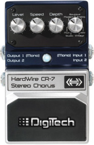 Digitech CR-7 Hardwire Stereo Chorus pedal