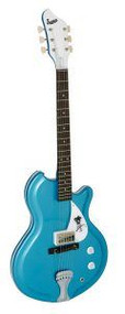 Supro 1570WB Americana Guitar Sahara Single P/U -  Wedgewood Blue