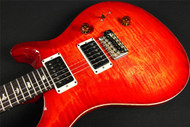 PRS Paul Reed Smith Custom 24 USA Pattern Regular Blood Orange Flame (795)