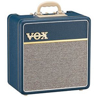 Vox AC4C1-BL 4w tube combo with custom Celestion VX10 speaker,Blue Tolex