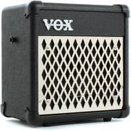 Vox MINI5-RHYTHM 5w Busking Amp, 1x6.5 speaker with rhythms, Black