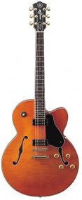 Yamaha AES1500-OST E-Guitar  Semi-Hollow Body Electric Guitar -  Orange Stain