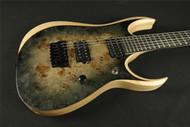 Ibanez RGDIX6PB-SKB RGD Iron Label Series 6 String RH Electric Guitar in Surreal Black Burst (144)