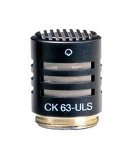 AKG CK63 ULS Professional small condenser capsule - flat frequency response. Consistent hypercardioid polar pattern