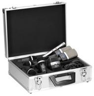 AKG DRUMSET PREMIUM Premium Touring Drum Pack -  includes 1 x D12 VR; 1 x C214;  1 x C451 B ; 4 x D40