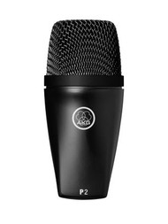 AKG P2 Perception Series - High performance dynamic bass microphone for kick drum, deep brass and bass amp miking