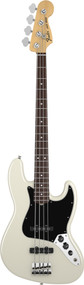 Fender American Special Jazz Bass Rosewood Olympic White With Gig Bag 0111660305
