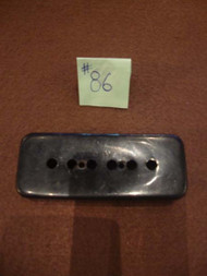 1970s Black P90 Pickup Cover