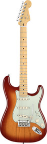 Fender American Deluxe Stratocaster ASH Maple Neck ACB Electric Guitar