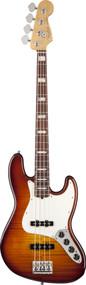 Fender Select Active Jazz Bass Rosewood Fingerboard Tobacco Sunburst 0170320852
