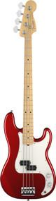 Fender American Standard Precision Bass Maple Fingerboard Mystic Red 193602794