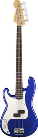Fender American Standard Precision Bass 2012 Left Handed Rosewood Mystic Blue