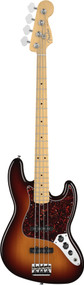 Fender American Standard Jazz Bass 2012 Maple Neck 3-Color Sunburst 0193702700