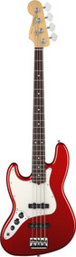 Fender American Standard Jazz Bass Maple Fingerboard Left Handed Mystic Red