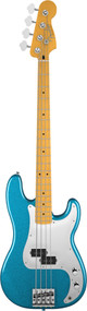 Fender Steve Harris Precision Bass Artist Series Royal Blue Metallic Bass w/ Bag