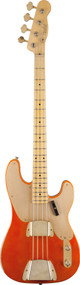 Fender Custom Shop 1951 Relic Precision Bass Candy Tangerine 1502202882
