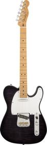 Fender Custom Shop Custom Deluxe Telecaster Maple - Ebony Transparent1509862839