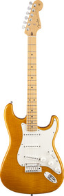 Fender Custom Shop Custom Deluxe Stratocaster Maple Faded Candy Yellow1509962820