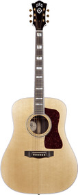 Guild D55 Natural Traditional Series Guitar With Case 3850500821