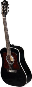 Guild D40R HAVENS Black With Fishman Traditional Series Guitar With Case 3850115806
