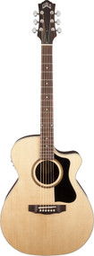 Guild AO-5CE Rosewood Orchestra Cutaway Natural with Case 3830706821