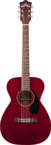 Guild M-120 Mahogany Concert Cherry Red with Case 3818100838