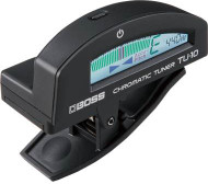 Boss TU-10 BKC Clip-On Chromatic Tuner Black Case 10