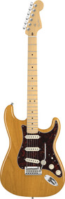 Fender American Deluxe Stratocaster Maple Neck Amb Electric Guitar 0119002720