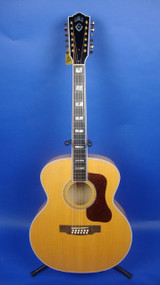 Guild F-412 Blonde with Guild Hardshell Case
