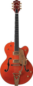 Gretsch G6120TM Chet Atkins Hollow Body Flame - Tiger Maple (2401250850)
